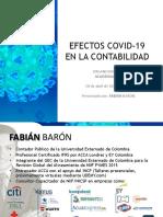 EFECTOS COVID 19 EN LA CONTABILIDAD