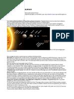 Sistema Solar resumen