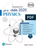 Sanjeev Kumar - Complete Companion for Jee Main 2020 Physics Vol 1-Pearson Education (2019)