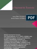 Sistema Nacional de Tesorería