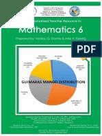 Contextualized Teacher Resource in Mathematics 6