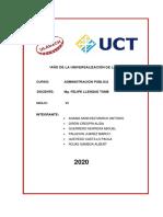 Proyecto sensibilización sobre medidas para prevenir y controlar el COVID-19