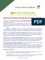 Eco Foglio - n. 1