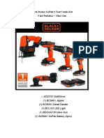 Black Decker GoPak 5 BROCHURE