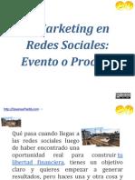Marketing en Redes Sociales Evento o Proceso | DayanayFreddy.com