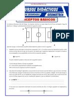 Conceptos Básicos Geométricos Para Primero de Secundaria