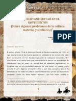Pablo Rocca - Orsini Bertani- editar en el novescientos