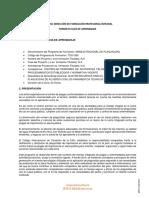 GUÍA DE APRENDIZAJE CONTROLAR DERRAMES DE SUSTANCIAS PELIGROSAS DE ACUERDO CON PROCEDIMIENTOS ESTAB