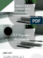 Tema 5 - La tecnología de la información y comunicaciones