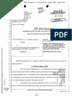 TICKETMASTER LLC v. ILLINOIS UNION INSURANCE COMPANY et al Complaint
