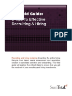 5 Tips To Effective Recruiting & Hiring Management