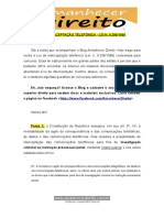 Interceptação  PDF