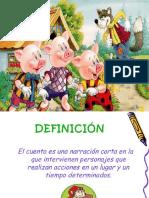 5.DIAPOS...EL CUENTO  4°.pptx