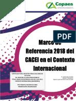 Referencias CACEI 2018