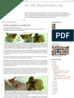 Patología Aviar. Buche penduloso