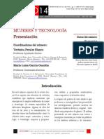 Icono 14. A9/V1. Mujeres y tecnología. Presentación