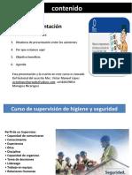 Curso para supervisores SST
