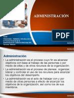 1. Conceptos de Administración