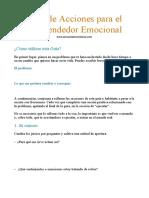 Guía de Acciones para el Emprendedor Emocional