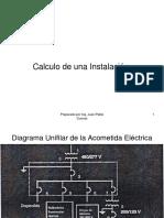 CALCULO DE INSTALACION INDUSTRIAL- COMERCIAL