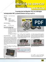 indicaciones para montaje volante bimasa luk