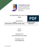 ENVIRONMENTAL LAW (MUHAMMAD IZZAT BIN MOHD ASRI).docx
