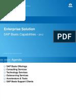 SAP Basis Capabilities Deck Ver 1.6
