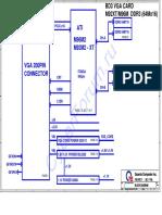 Quanta BD3 (DABD3UB2AC0) Rev B2A ATI M92M2-XT, M96M2 VGA Board
