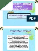 M_ Slavicek, Darovitost Mitovi, Pojam i Razumijevanje