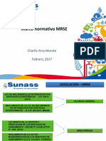 Marco normativo MRSE 2017