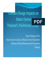 cc impact to water thailand