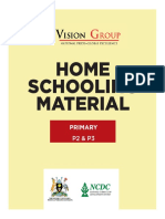 HOME SCHOOLING MATERIAL - Primary Three (30th April 2020)