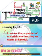 Grade 5 _ Harmful and Useful Materials