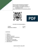 Syllabus A. Químico 2019-I