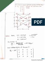 Matrix stiffness method(truss) Assignment (1)