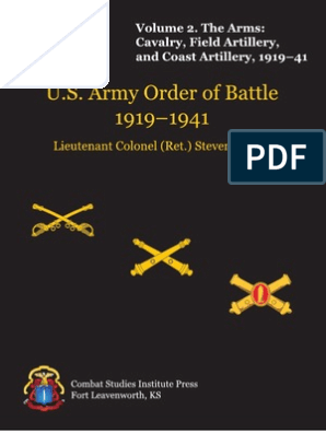 Us Army Ww1 Ord Battle Vol2 Regiment Battalion