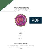 LAPORAN PRAKTIKUM BIOKIMIA VITAMIN_IIS SUGIARTI_S1.2.1