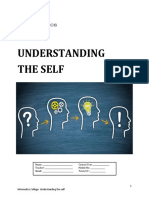 UNDERSTANDING THE SELF (Prelim Module)