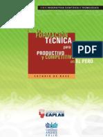 La Formación Técnica Para El Trabajo Productivo y Competitivo en el Perú