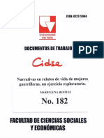 Documento de trabajo No. 182