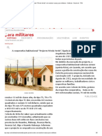 Projecto _Pérola Verde_ vai construir casas para militares - Notícias - Nacional - TPA