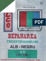 Depanarea TV Alb-negru Si in Culori 6-1993