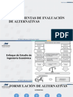 EVALUACIÓN DE ALTERNATIVAS 1