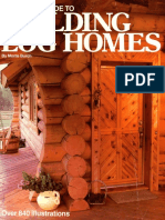 Complete Guide to Building Log Homes - Over 840 illustrations