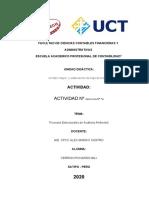 ACTIVIDAD Nº 14 Orientación Pedagógica