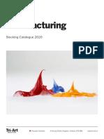 2020 Tri-Art Catalogue