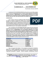 RESOLUCION APROBACION EXPED TECNICO PLAZA 10-01-2020
