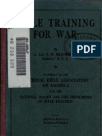 Rifle Training for War