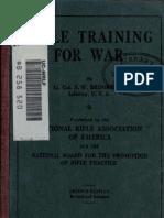 Rifle Training for War