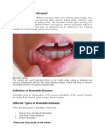 What is Stomatitis Disease